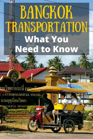 Bangkok Transportation - What You Need to Know - Pin