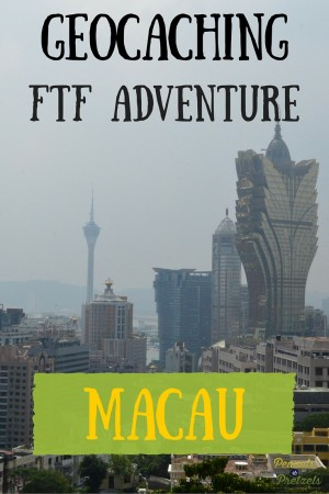FTF Geocaching Adventure Macau - Pin