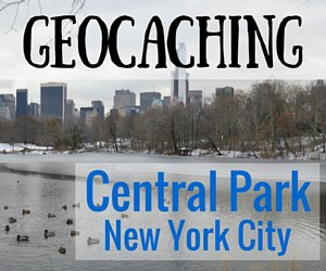 Geocaching in Central Park – New York City