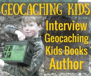 Geocaching kids books - FB