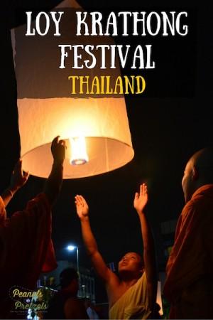 Loy Krathong Thailand - Pin