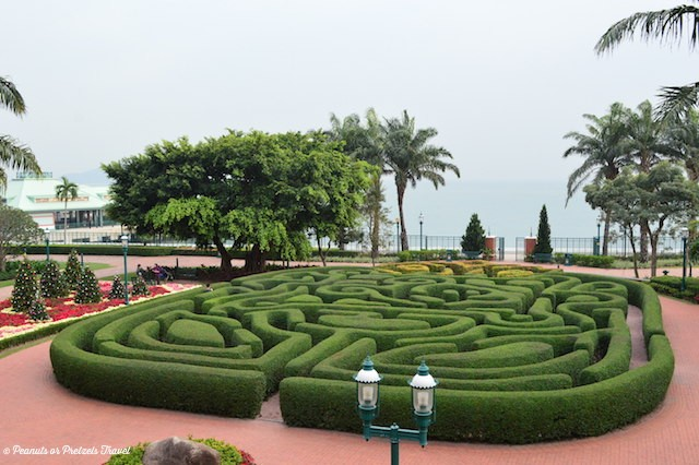 Maze at Disneyland Hong Kong