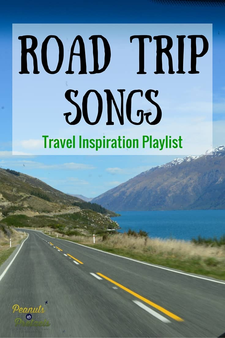Road Trip Songs Inspirations - Pin