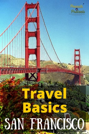 Travel Basics San Fran - Pin