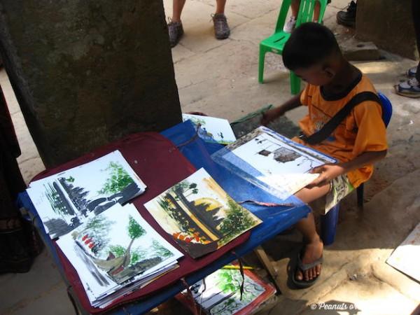 Cambodia Art by local boy