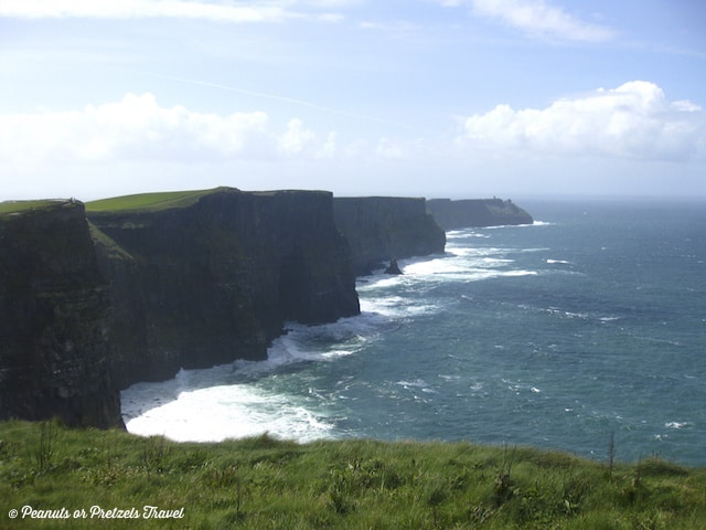 Cliffs of Moher, views of cliffs in ireland