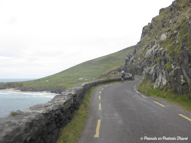 Dingle Peninsula road - Coast, driving the ireland coast, roads in ireland