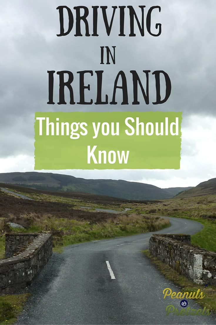 Driving in Ireland- Pin