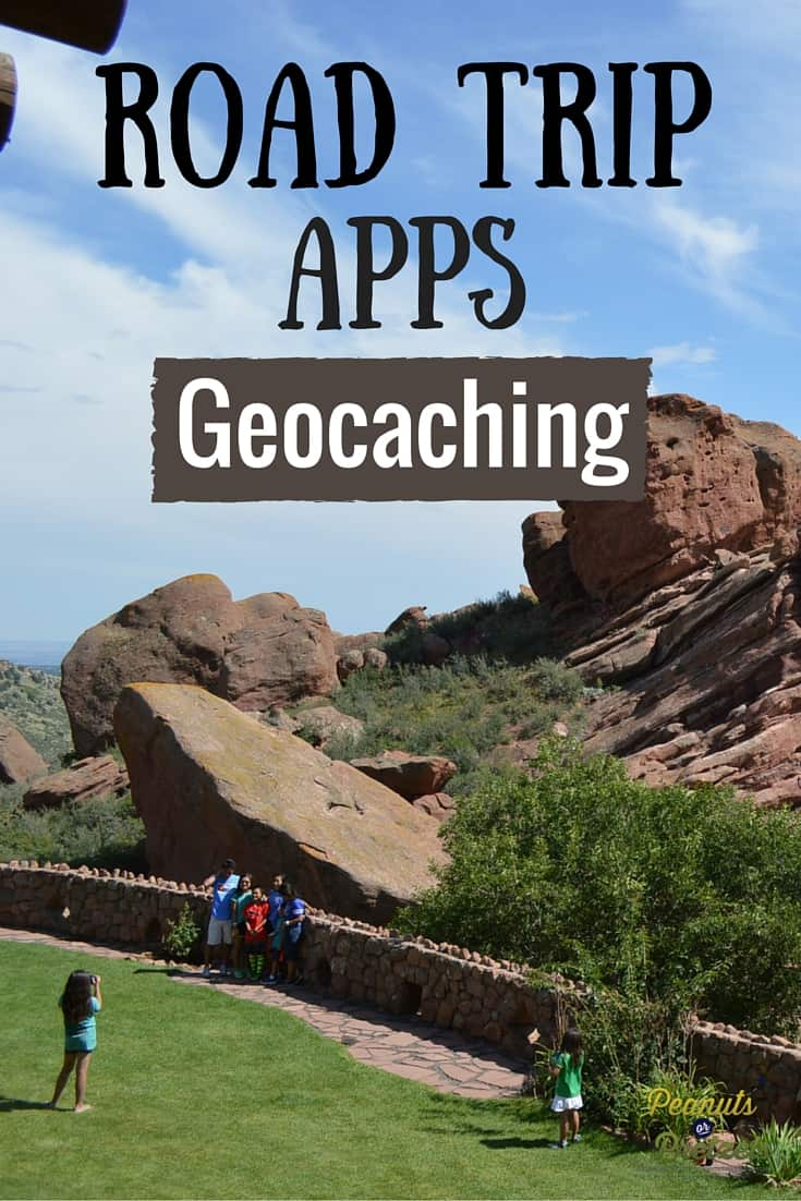 Road Trip Apps Geocaching - Pin