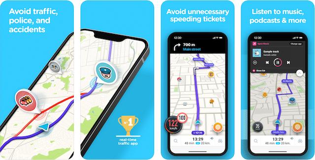 road trip apps, waze app, geocaching road trip app