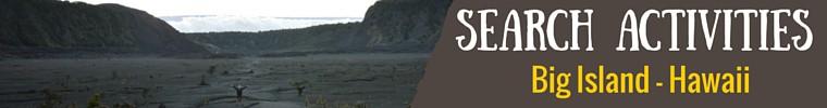 Seach Activites Big Island banner