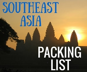 Southeast Asia Packing List – Our Recommendations