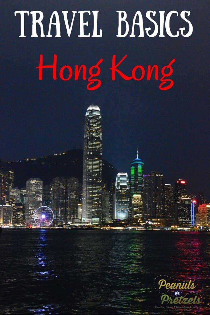 Travel Basics Hong Kong pin