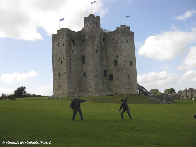 Trim Castle, castles in ireland, castle where they filmed braveheart