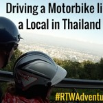"""I Feel Like I'm in a Biker Gang!"" – Driving a Motorbike Like the Locals in Chiang Mai, Thailand"