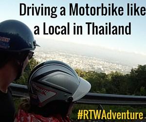 """I Feel Like I'm in a Biker Gang!"" – Driving a Motorbike Like the Locals in Chiang Mai, Thailand"