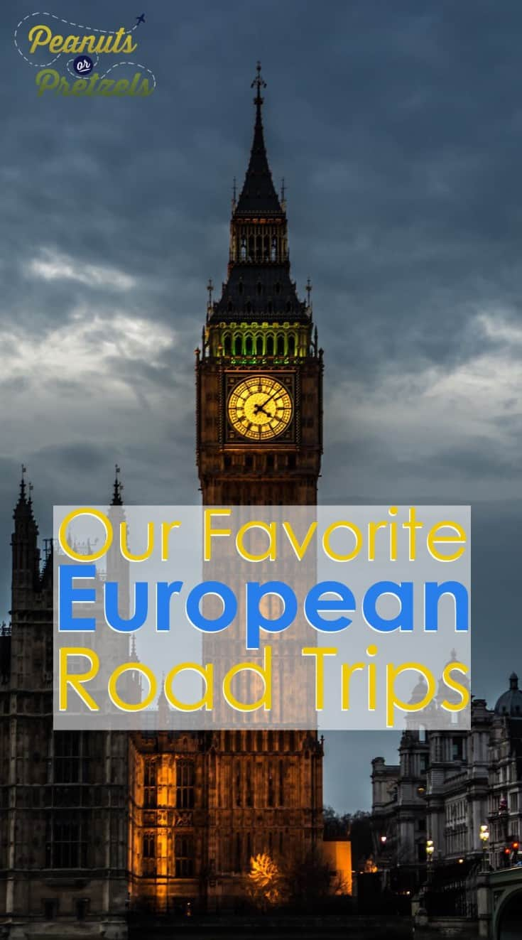 photo of big ben clock at night our favorite european road trips pin
