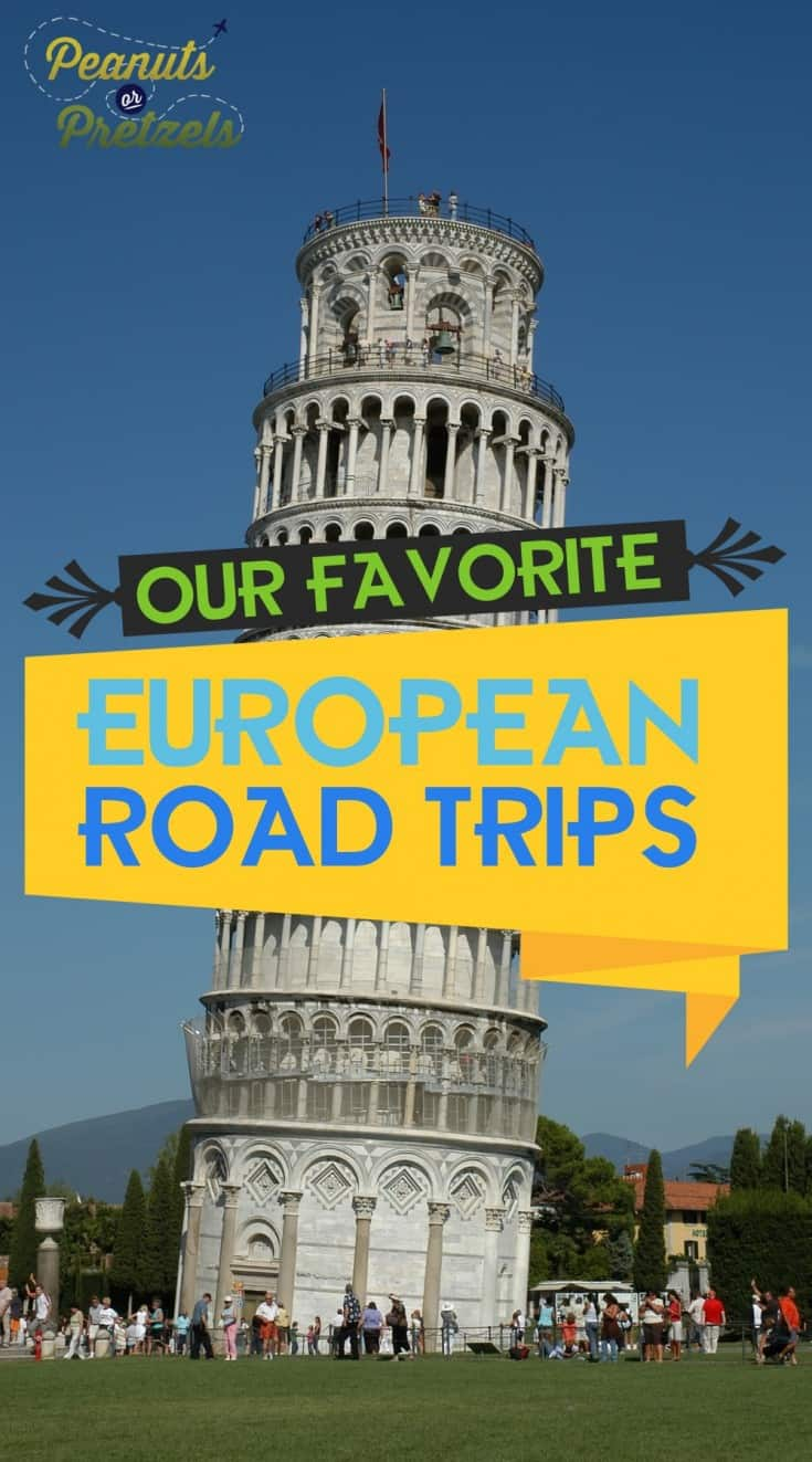 view of leaning tower of pisa our favorite european road trips pin