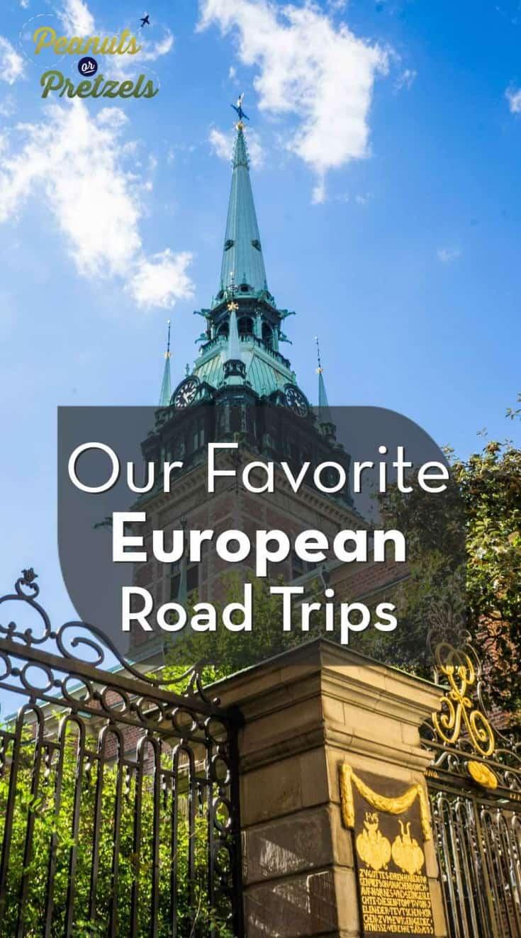 European church steeple our favorite european road trips pin