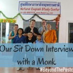 Beyond the Postcard: Our Personal Interview with a Monk from Thailand