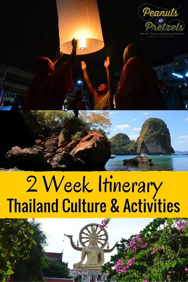 Thailand Culture & Activities-2 week itinerary