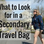 What to Look For in a Secondary Day Travel Bag