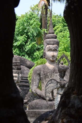 Vientiane is the capital, where is laos, buddha park vientiane, things to do in vientiane