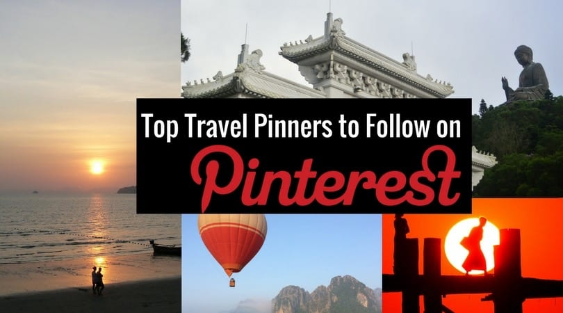 Inspiring Travel Pinners to Follow on Pinterest
