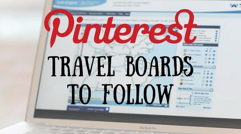 best pinterest travel boards