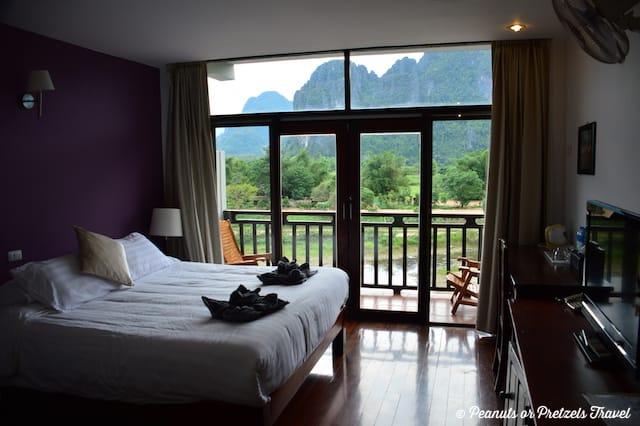 View from room at Silver Naga
