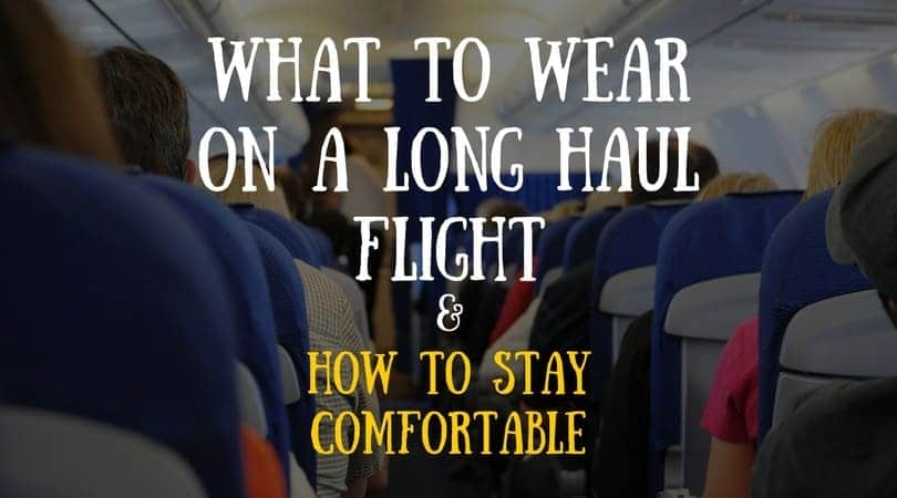 clothes for a long flight, be comfortable on a long flight, overnight flight clothes