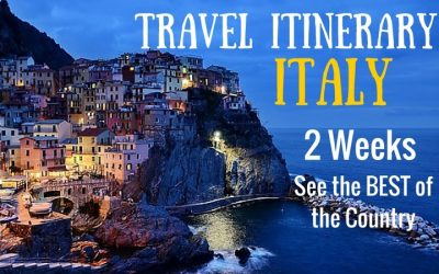 Travel Itinerary:  Two Weeks in Italy – See the Best of the Country!