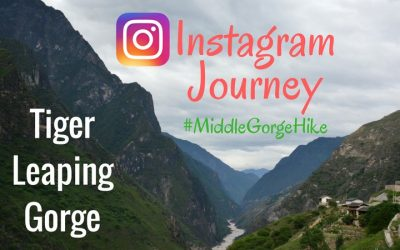 Instagram Journey of Our #MiddleGorgeHike in Tiger Leaping Gorge, China