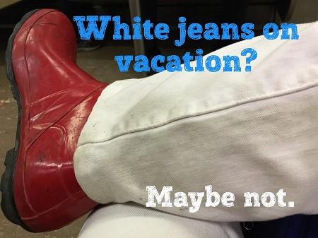 vickis white pants