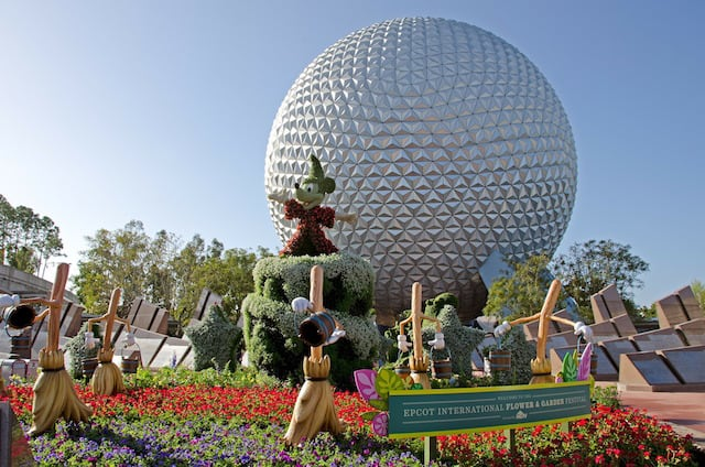 FDisney Epoct Flower and Garden Festival