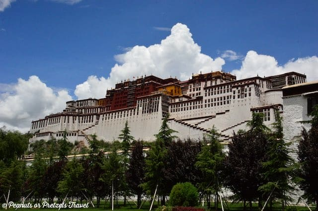 Lhasa Potala Palace, mount everest tibet, roof of the world, mount everest geocache