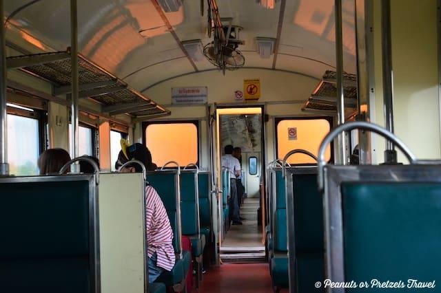 Train from Thailand to Laos, bangkok to vientiane