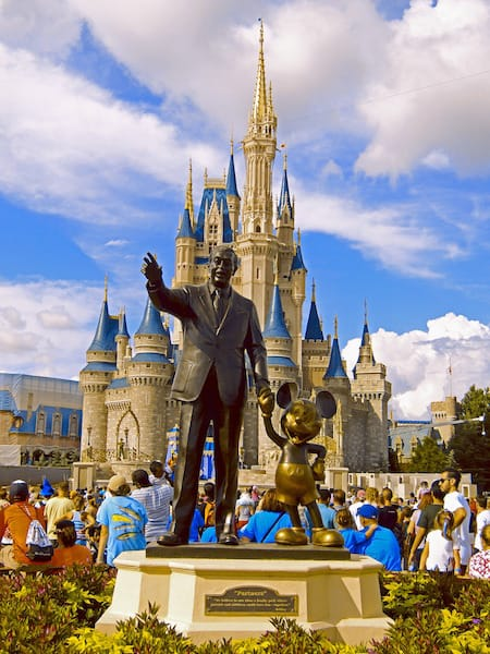 Walt Disney at Magic Kingdom