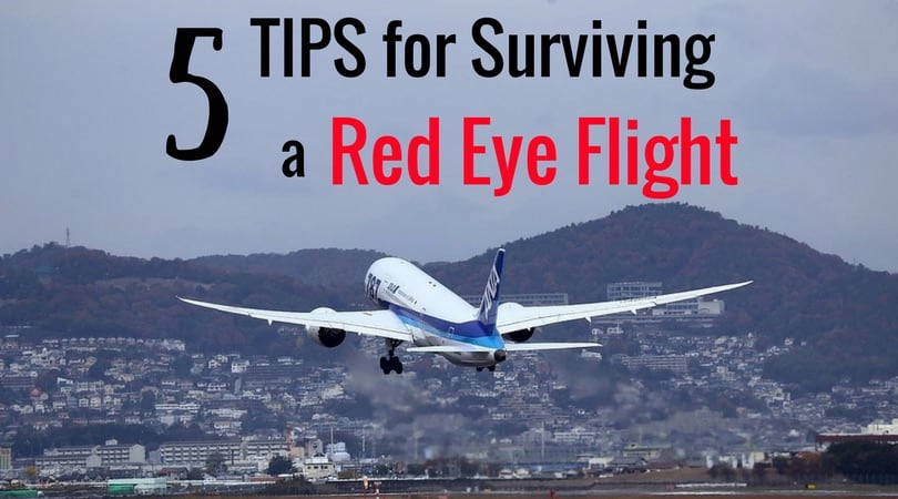 5 Expert Red Eye Flight Tips to Help You Survive an Overnight Flight