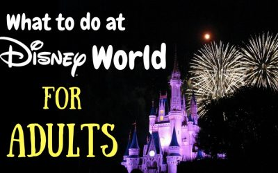 What to Do at Disney World for Adults
