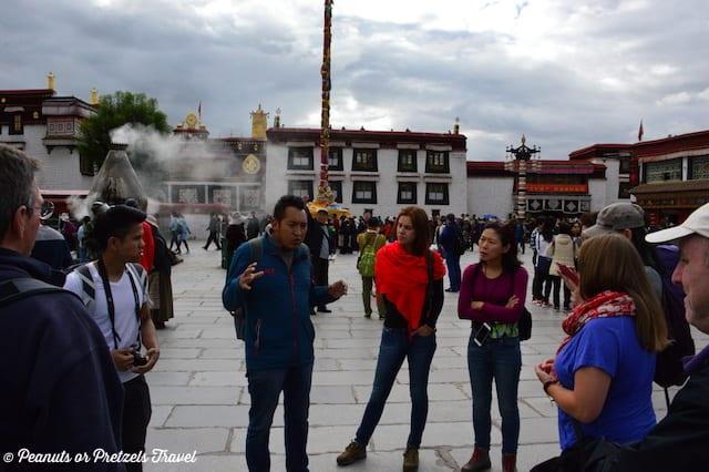 Guide in Tibet