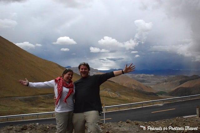 Josh & Liz on the way to Everest