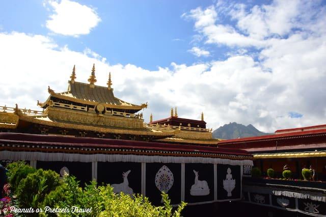 Jokhang Temple in Tibet Lhasa