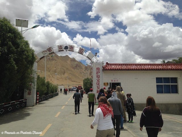 Tibet Check POint