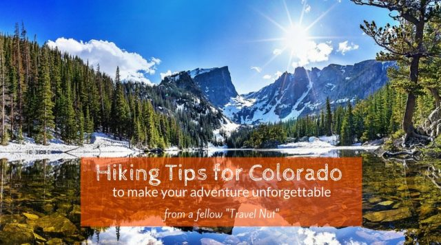 hiking tips for colorado