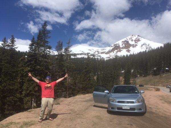 colorado road trip view