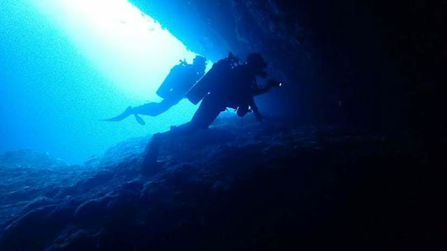 scuba diving candidasa, diving bali indonesia caves