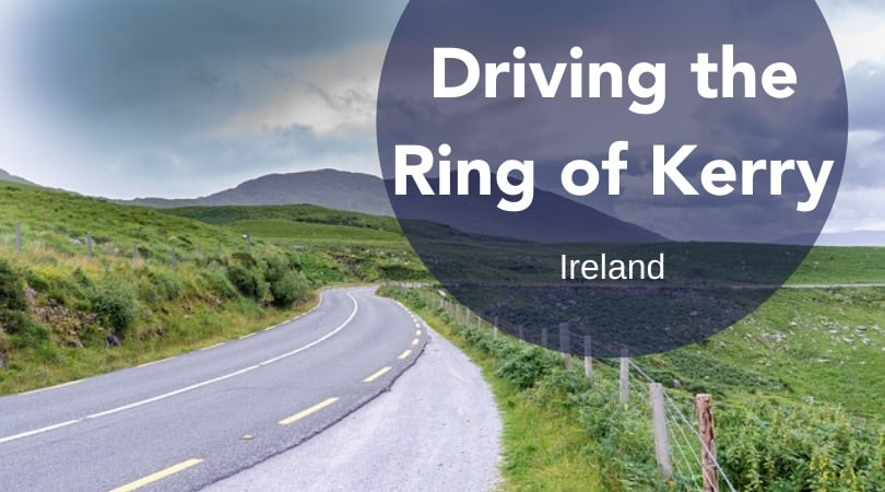 road driving in the ring of kerry, ring of kerry ireland