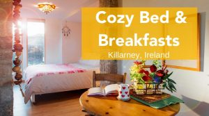 charming bedroom in Ireland, cozy bed and breakfast in ireland, bed and breakfast killarney