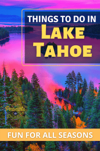 things to do in lake thaoe